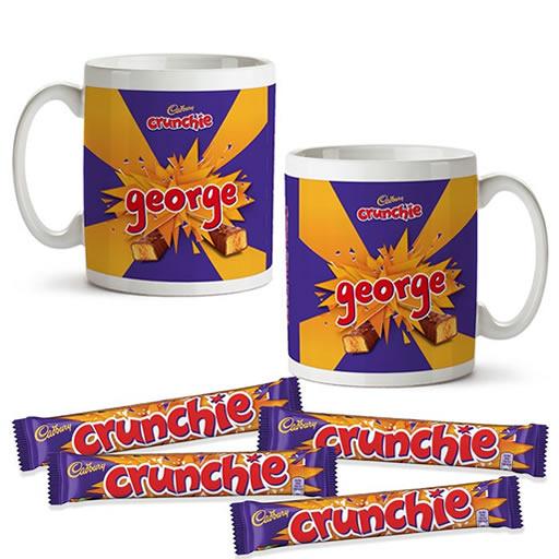 Personalised Chocolate Mug Set