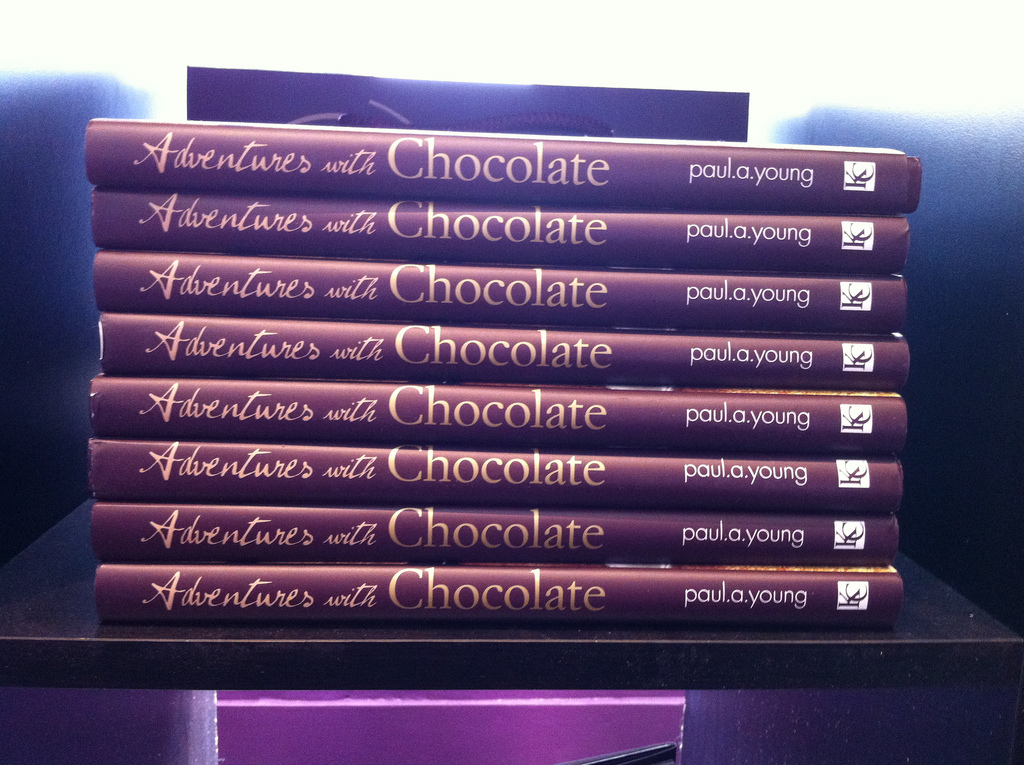Paul A Young Adventures with Chocolate book