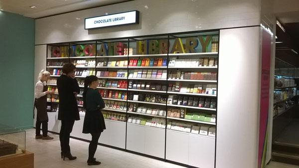 Selfridges Chocolate Library