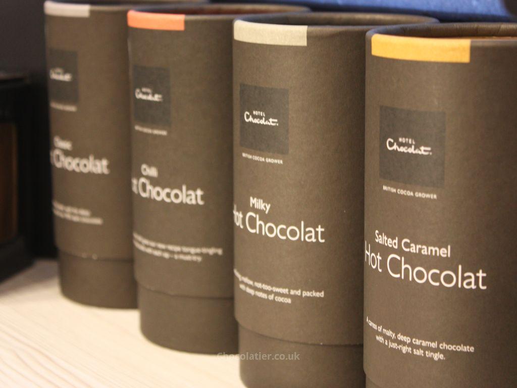 Hotel Chocolat Hot Chocolate drums