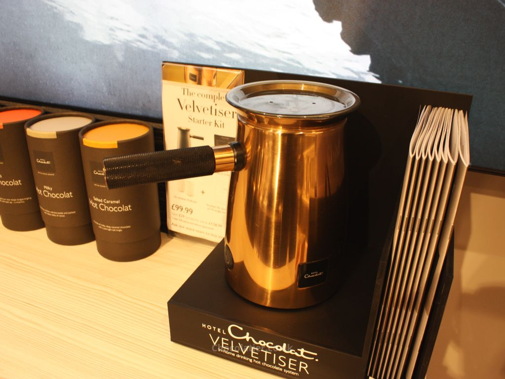 Hotel Chocolat Velvetiser in Copper