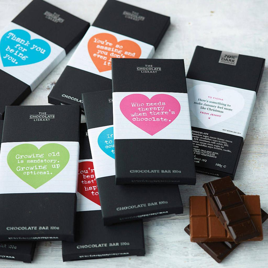 The Chocolate Library Feel Good Chocolate Monthly Gift Subscription