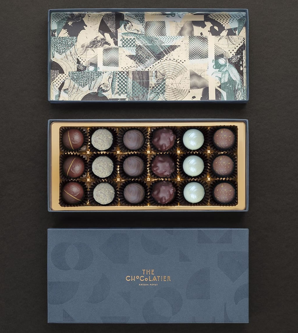 The Chocolatier Aneesh Popat Monthly Chocolate Box