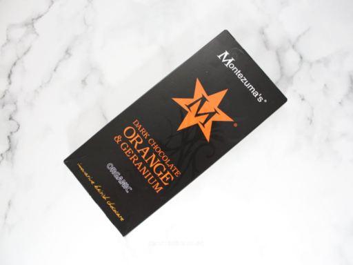 Montezuma's Organic Dark Chocolate Orange and Geranium Review