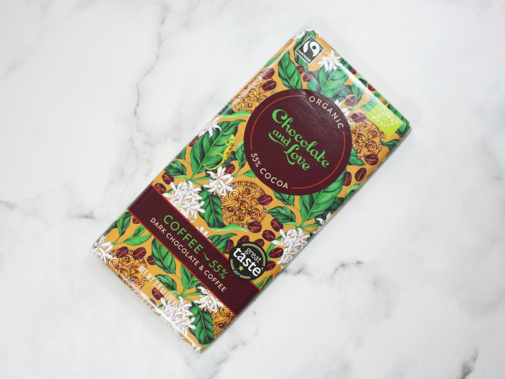 Chocolate And Love Dark Chocolate Coffee Review