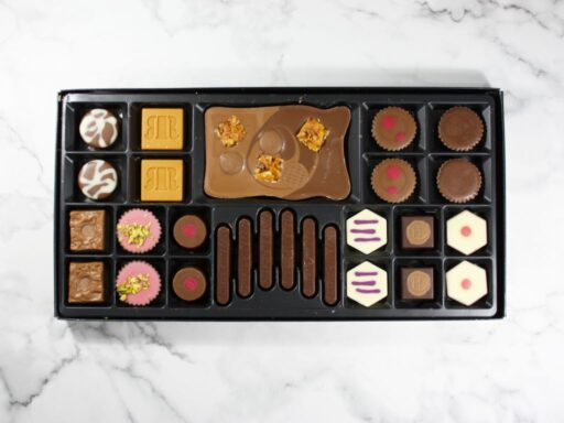 Inside the Hotel Chocolat Mellow Tasting Box