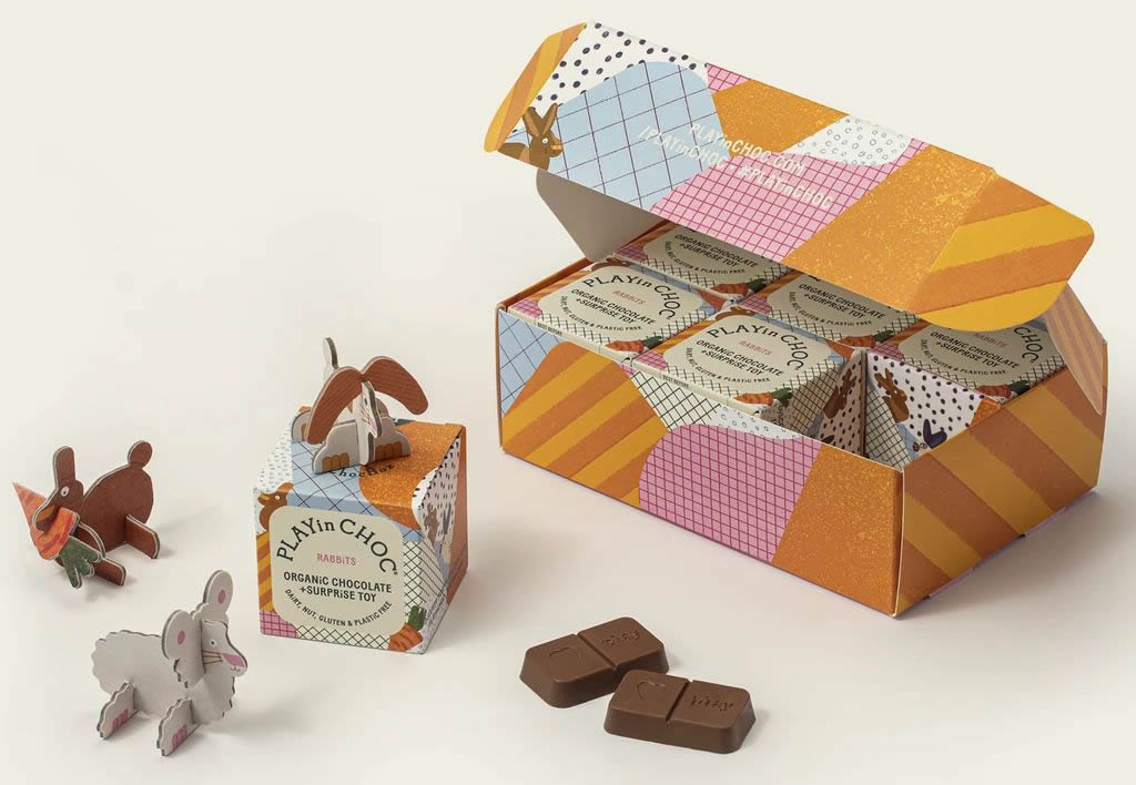 PLAYin Choc ToyChoc Box Monthly Subscription Package