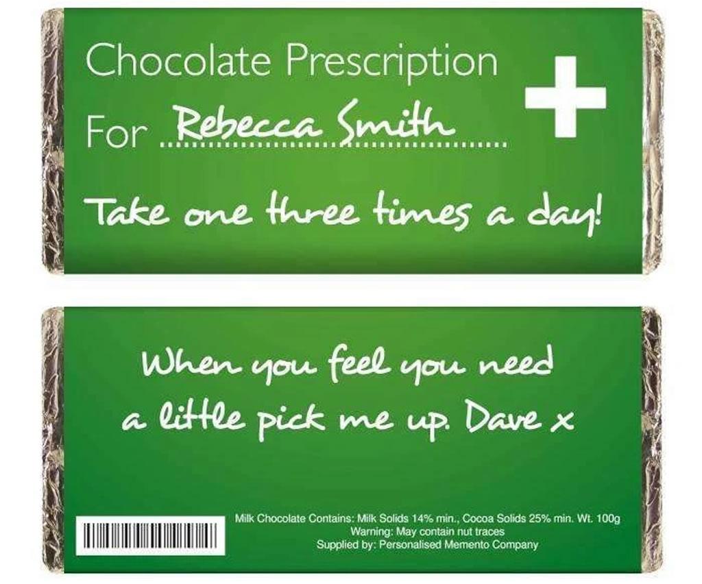 Always Personal Personalised Milk Chocolate Bar