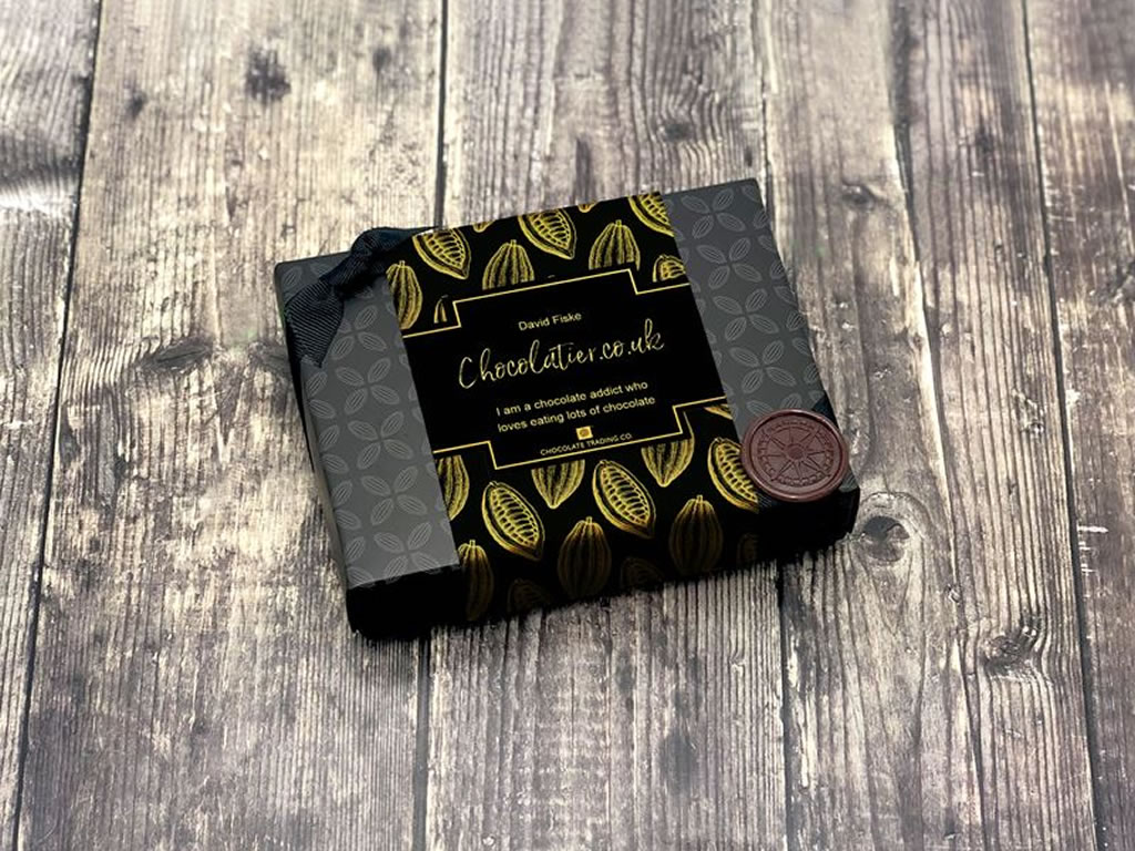 Chocolate Trading Co Personalised Sleeves