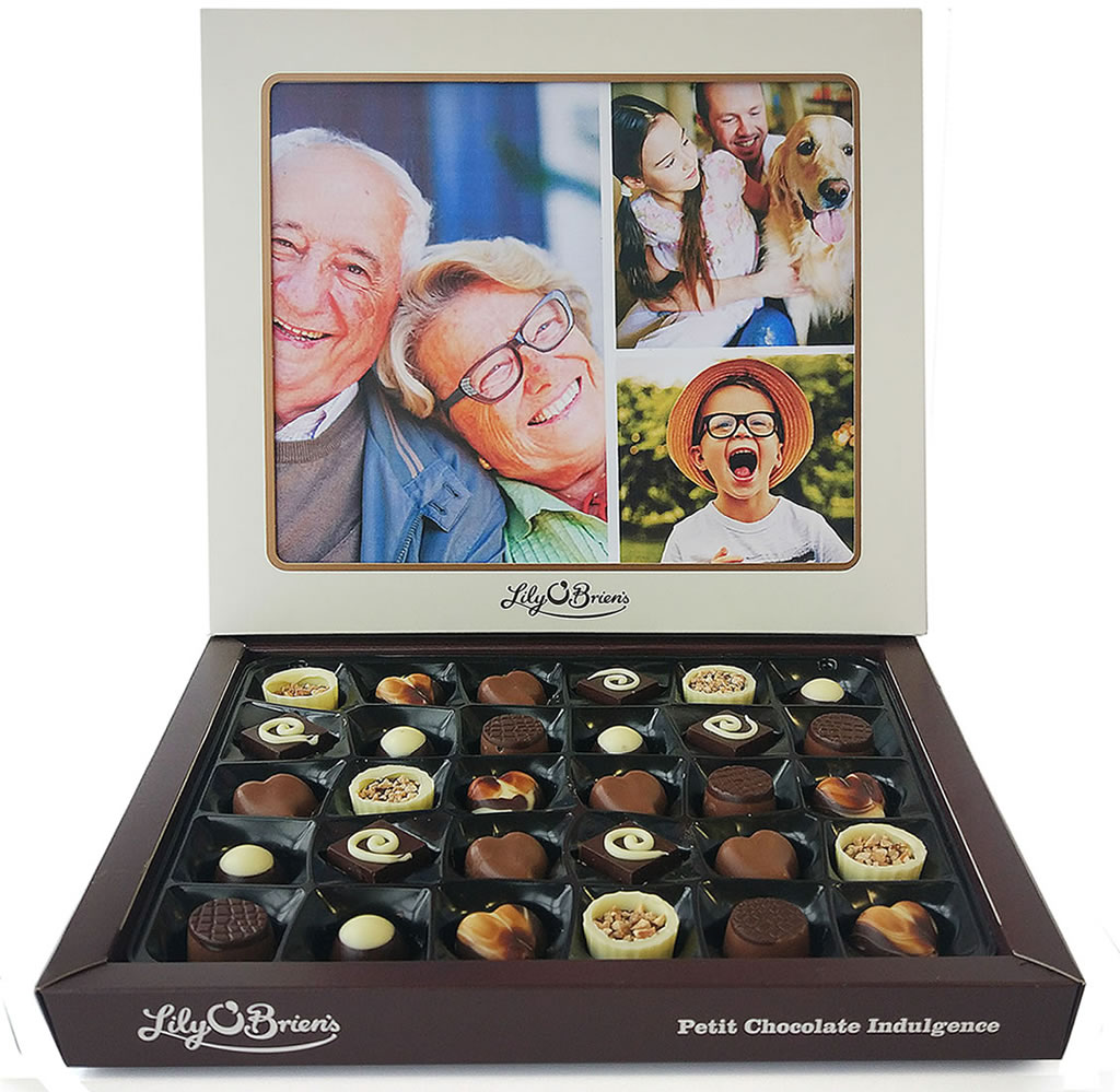 Lily O'Brien's Personalised Photo Chocolate Box