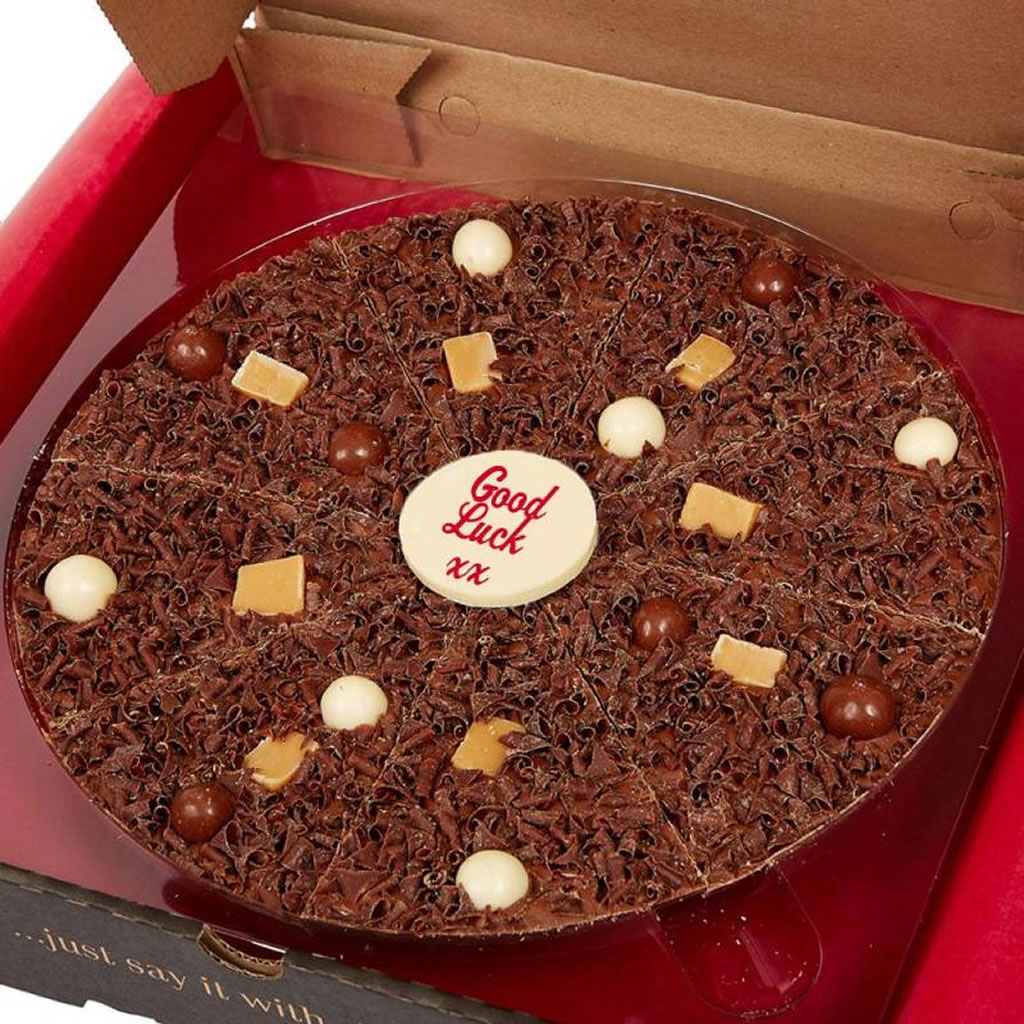 """Personalised 10"""" Chocolate Pizza"""