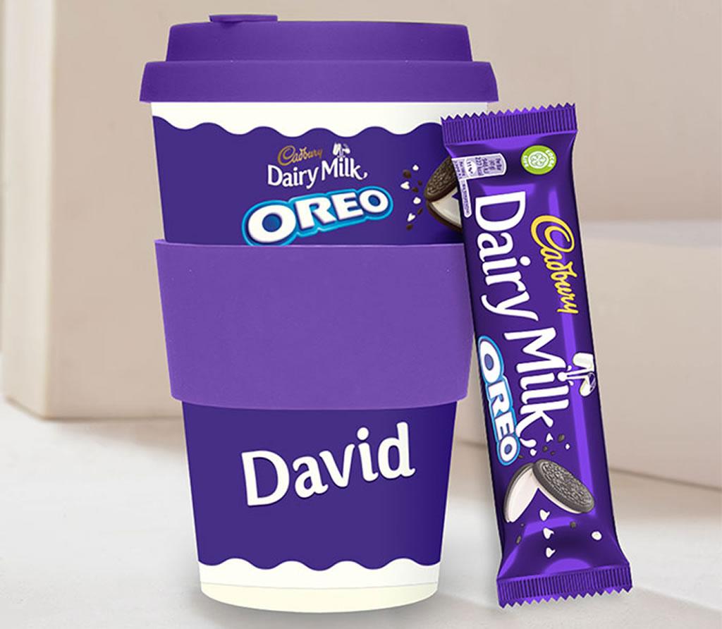 Personalised Cadbury Coffee Cup & Chocolate