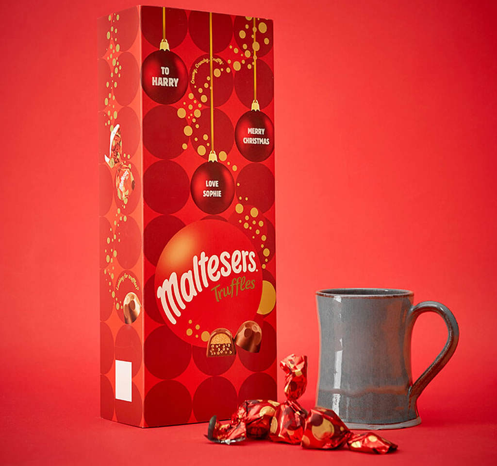 Personalised Maltesers Truffles Box