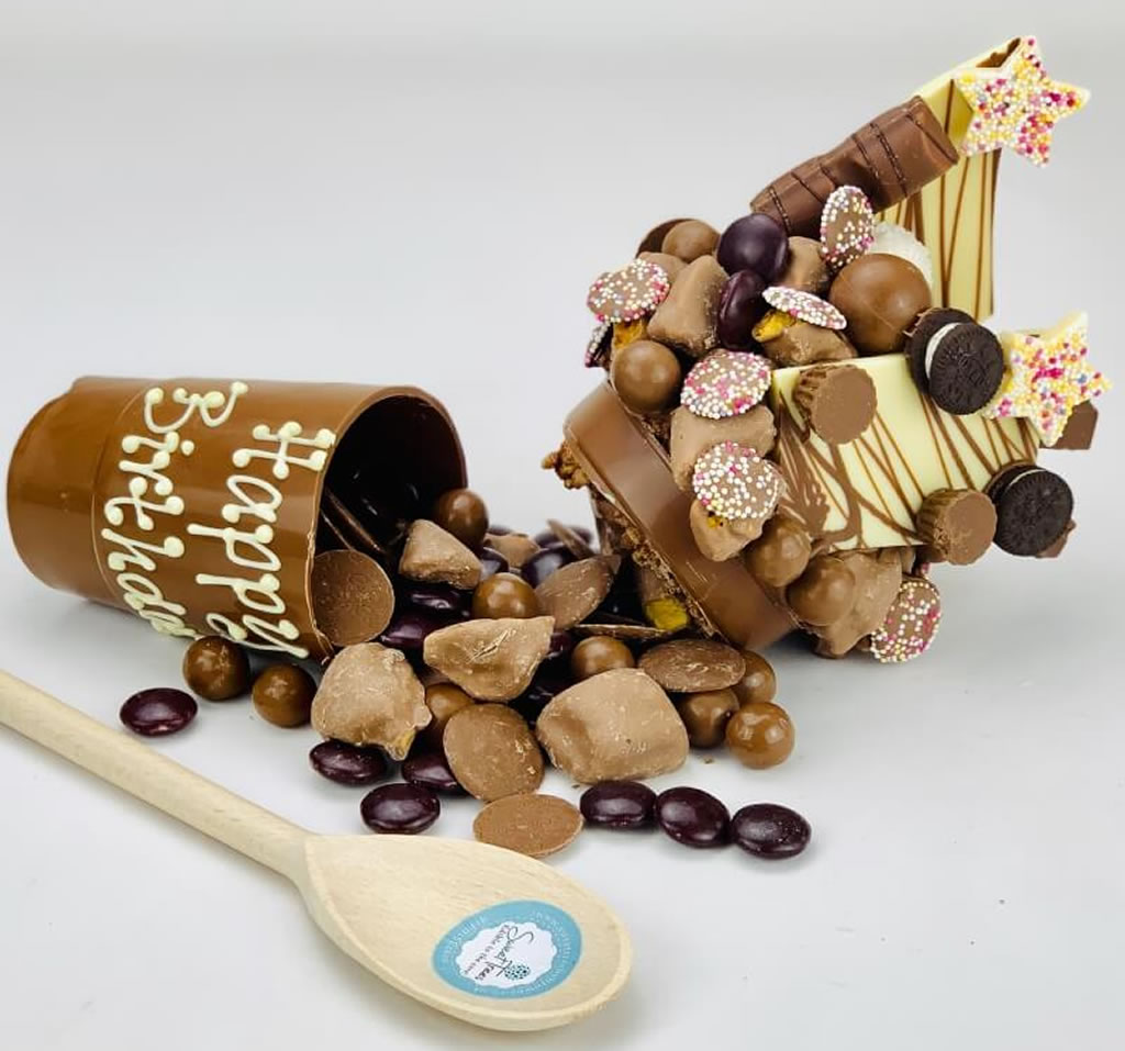Personalised Milk Chocolate Smash Cup