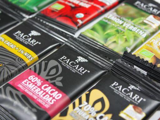 Pacari Taster Mini Bar Wedding Favours Packaging