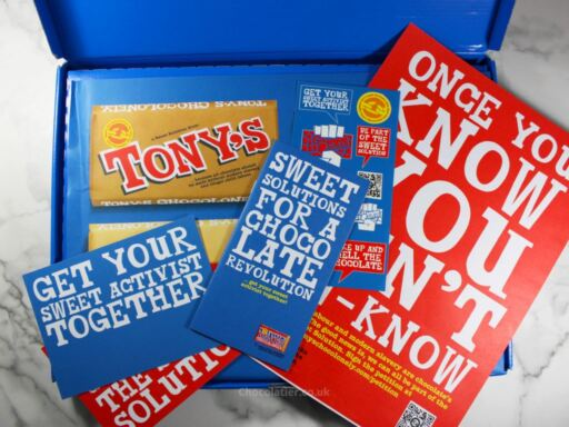 Inside the Tony's Chocolonely Sweet Solution Kit