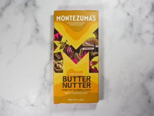 Montezuma's Butter Nutter Milk Chocolate Review