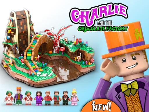Charlie and the Chocolate Factory LEGO MOC