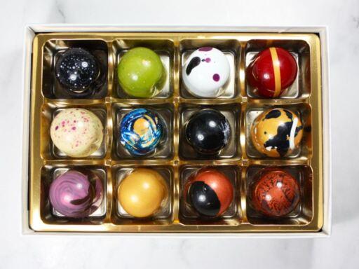 Humblebeez 12-Piece Chocolate Bonbons Gift Box
