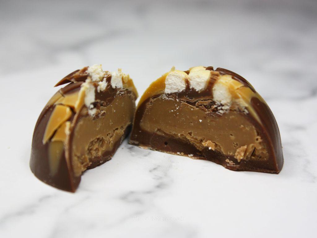Inside Hotel Chocolat Billionaire's Shortbread