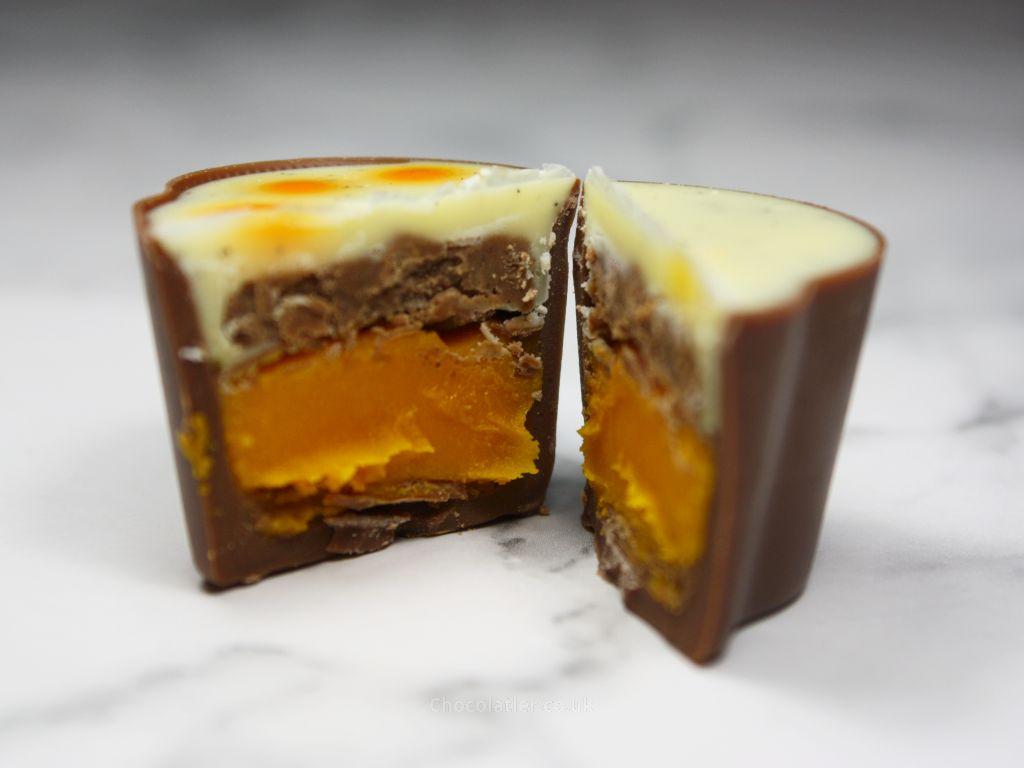 Inside Hotel Chocolat Carrot Cake