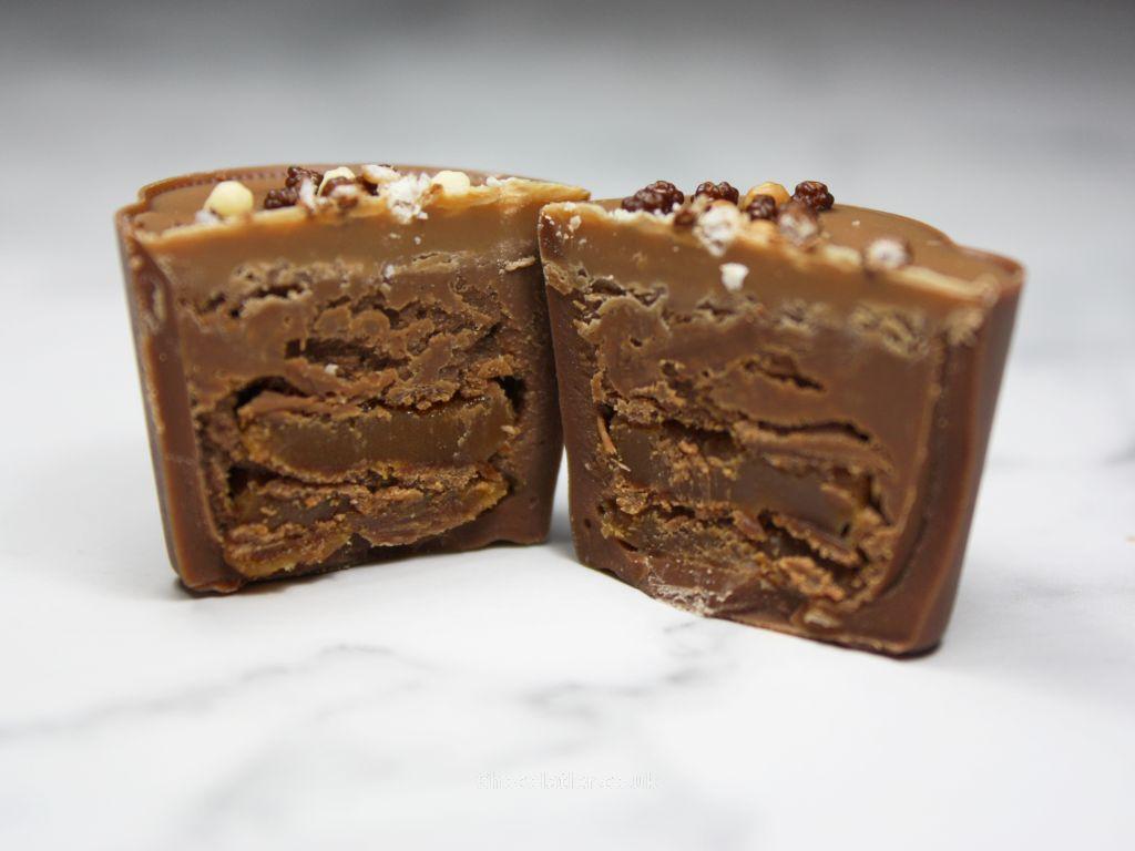 Inside Hotel Chocolat Fudge Sundae