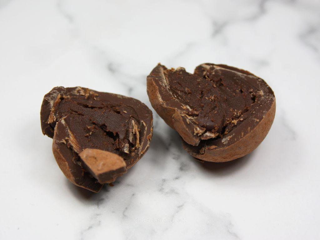 Inside Hotel Chocolat Mousse au Chocolat