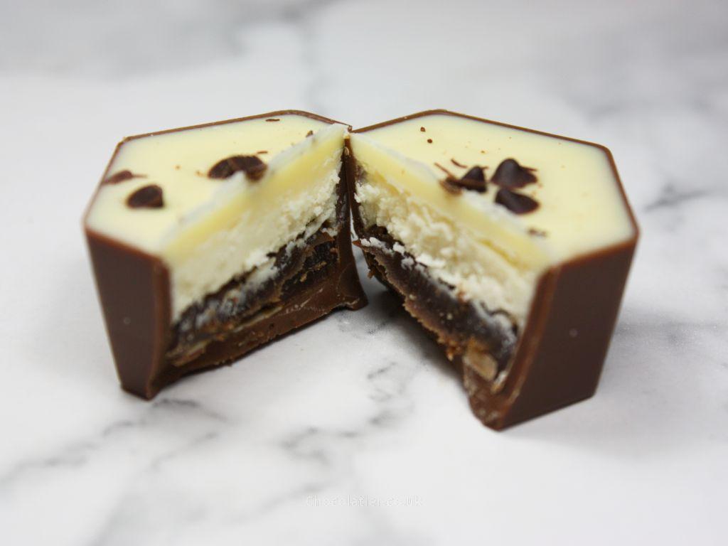 Inside Hotel Chocolat Tiramisu